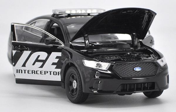 โมเดลรถยนต์ โมเดลรถเหล็ก Ford ตำรวจ 4