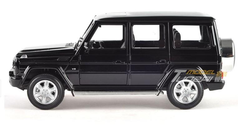 โมเดลรถ รถเหล็ก โมเดลรถเหล็ก โมเดลรถยนต์ Benz G500 ดำ 4