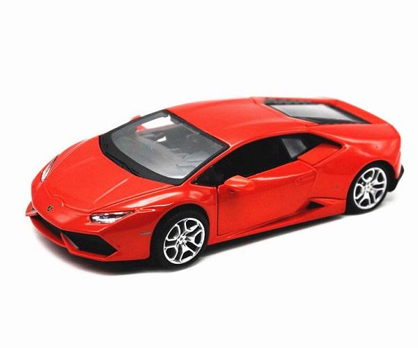 โมเดลรถประกอบ รถเหล็กประกอบ โมเดลรถเหล็กประกอบ, โมเดลรถยนต์ประกอบ Lamborghini lp610-4 red 2