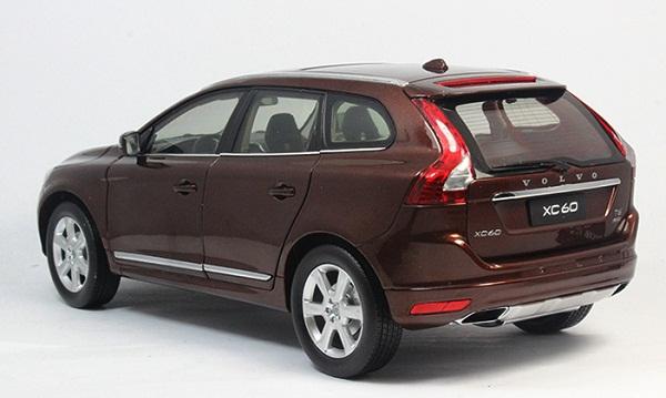 โมเดลรถ โมเดลรถเหล็ก โมเดลรถยนต์ Volvo XC60 brown 2