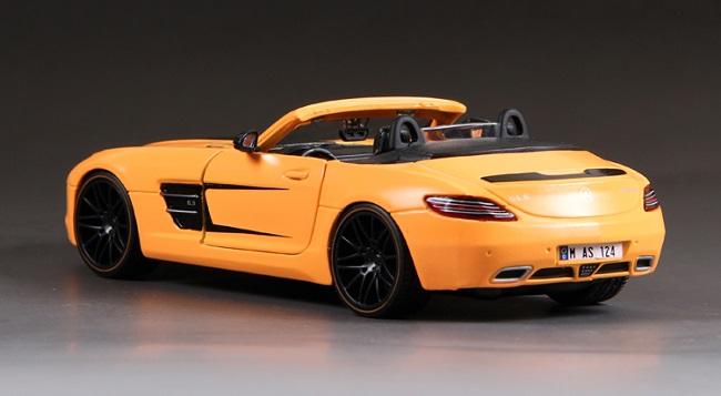 โมเดลรถ โมเดลรถเหล็ก โมเดลรถยนต์ benz sls amg roadster 2