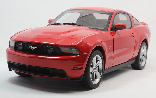 โมเดลรถ โมเดลรถเหล็ก โมเดลรถยนต์ Ford GT 2010 red 2
