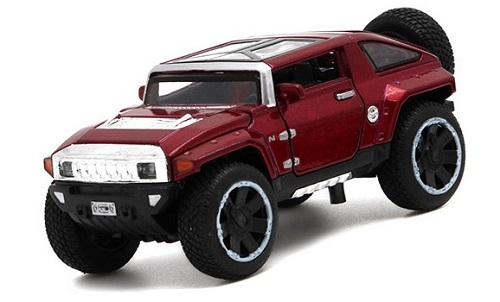 โมเดลรถเหล็ก โมเดลรถยนต์ Hummer hx 1