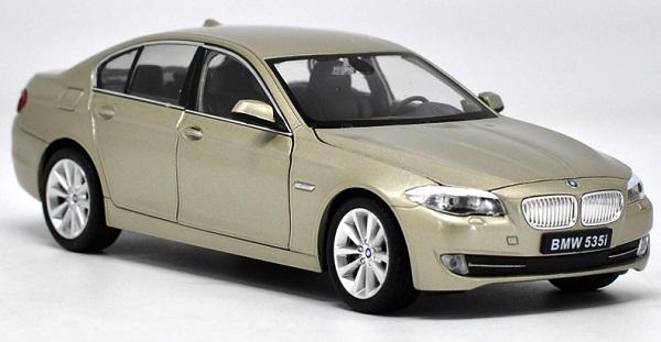 โมเดลรถ โมเดลรถยนต์ โมเดลรถเหล็ก bmw 535i gold 2