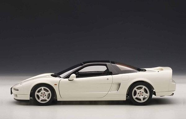 โมเดลรถ โมเดลรถยนต์ โมเดลรถเหล็ก รถเหล็ก honda nsx white 3