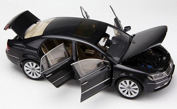 โมเดลรถ โมเดลรถเหล็ก โมเดลรถยนต์ VW phaeton black 4