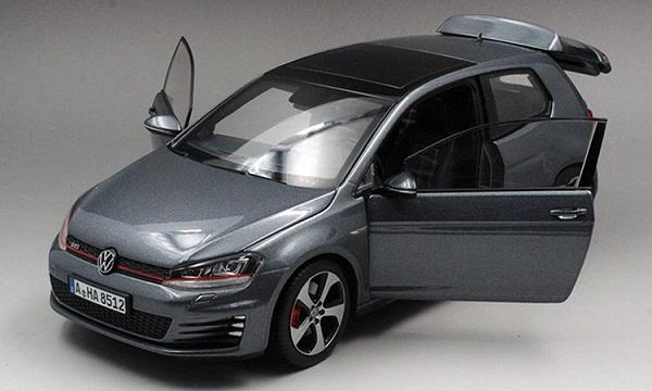 โมเดลรถ โมเดลรถเหล็ก โมเดลรถยนต์ Volkswagen Golf 7 grey 4