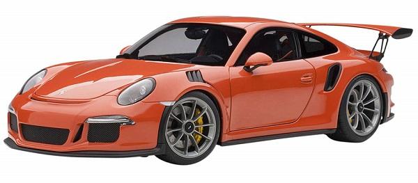 โมเดลรถ โมเดลรถยนต์ โมเดลรถเหล็ก Autoart Porsche 911 991 GT3 RS 1