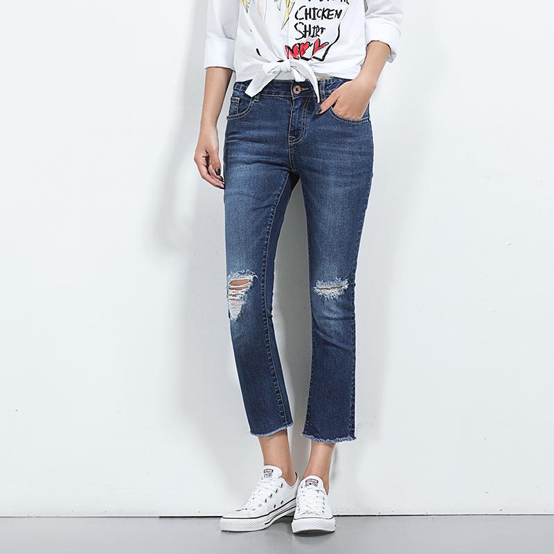 กางเกงยีนส์คนอ้วน XL-5XL