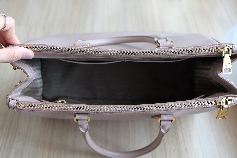 abdd6d7e51b4 Prada Cameo Saffiano Lux Tote 35 / 2 Zipper - BrandBeSure : Inspired ...