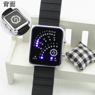 พร้อมส่ง นาฬิกาอิเล็กทรอนิกส์ GOT7 LED