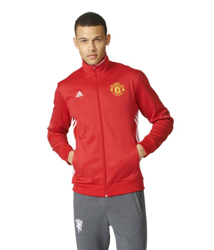 เสื้ออดิดาสแมนเชสเตอร์ ยูไนเต็ด คอร์แทร็คท็อปสีแดงของแท้