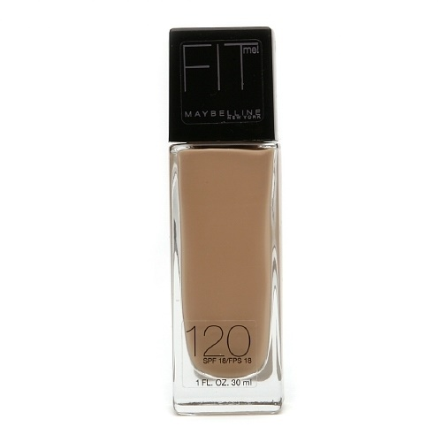 **พร้อมส่ง** Maybelline - Fit Me Liquid SPF 18 Foundation Matches #No.120
