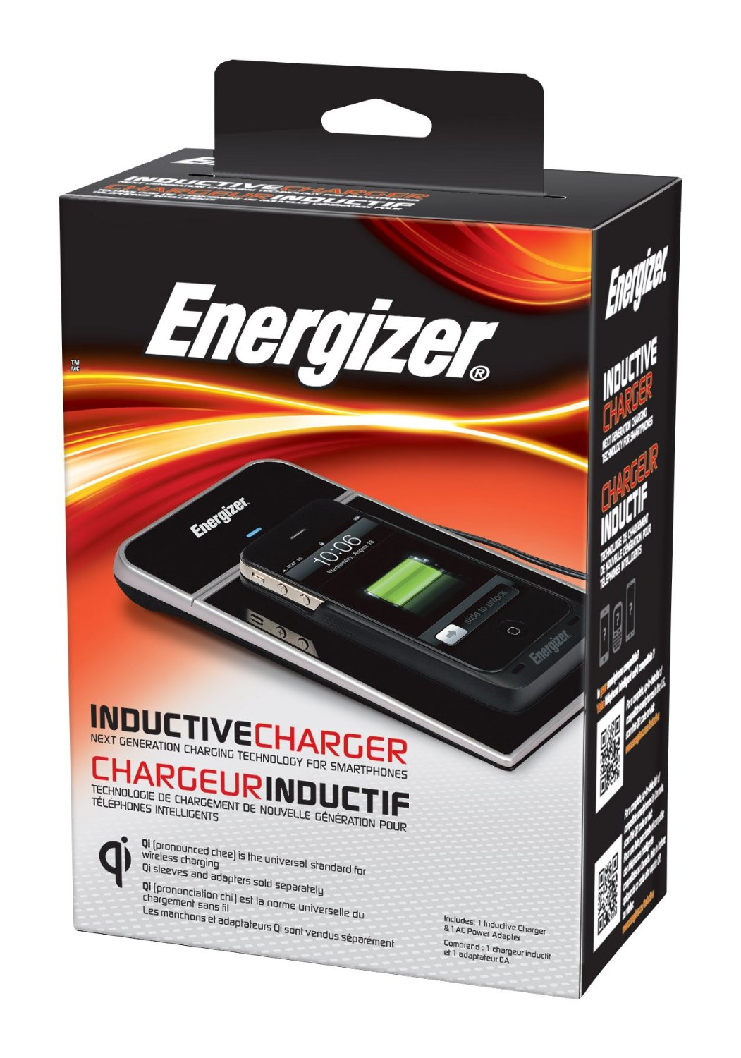 Energizer Single Position Inductive Charger