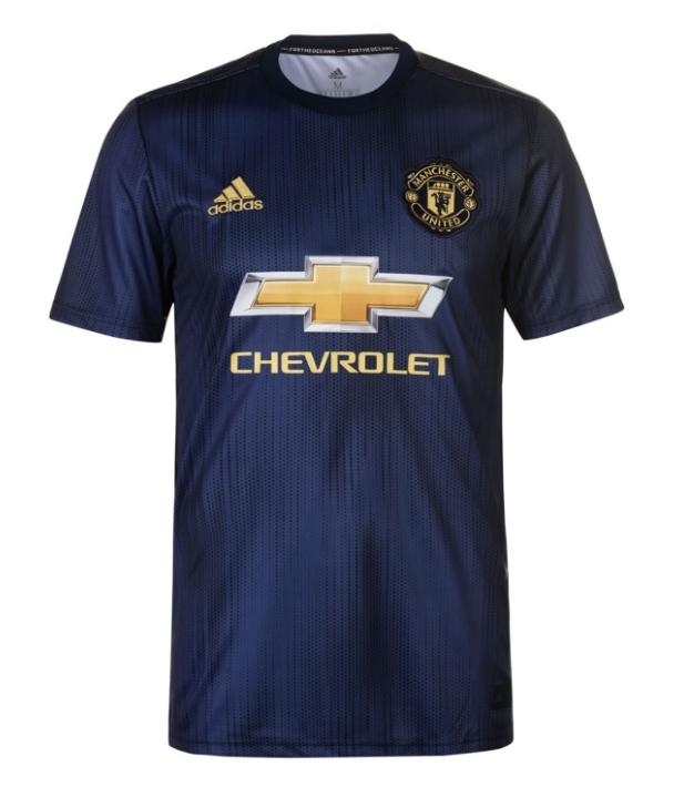 เสื้อแมนเชสเตอร์ ยูไนเต็ด 2018 2019 ชุดที่3 ของแท้