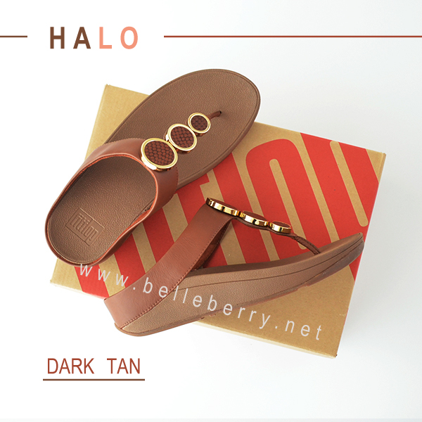 * NEW * FitFlop : HALO : Dark Tan : Size US 7 / EU 38