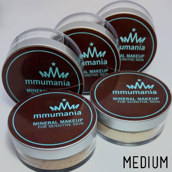 ขนาดจัดชุดกลาง 5 ชิ้น 600 บาท MMUMANIA mineral makeup : Medium Custom Kit 5 pcs.