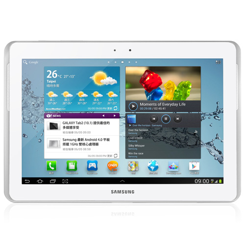 10.1'' (3G) SAMSUNG Tablet2 GALAXY 16GB. (White) รุ่น P5100
