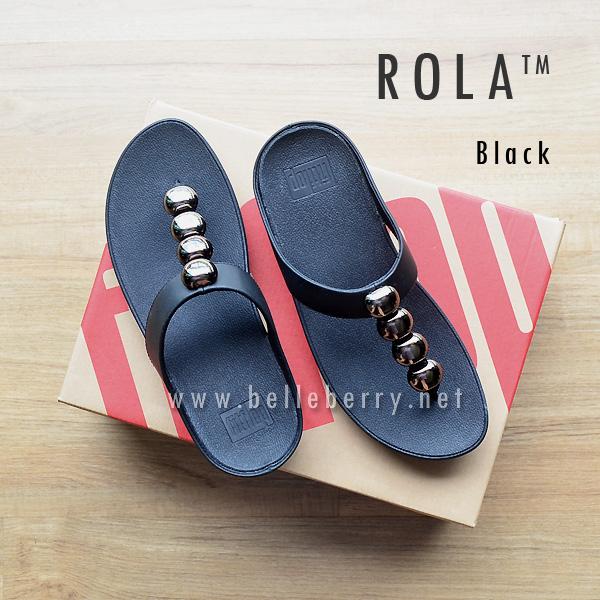FitFlop : ROLA : Black : Size US 5 / EU 36