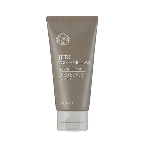 (พร้อมส่ง) The Face Shop Jeju Volcanic Lava Peel-Off Clay Nose Mask 50g
