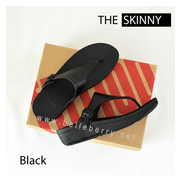 * NEW * FitFlop The Skinny : All Black : Size US 9 / EU 41