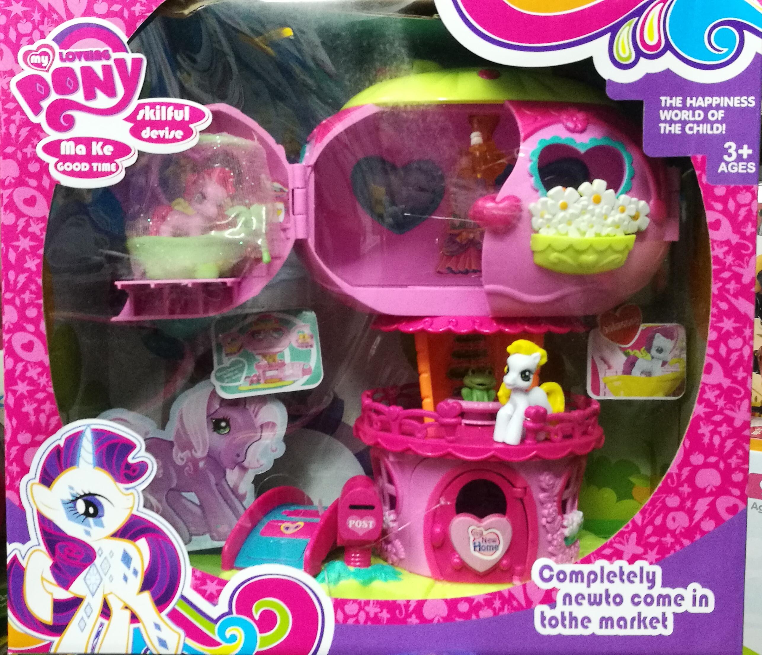 โมเดลบ้าน pony lovely house พร้อมส่ง ส่งฟรี