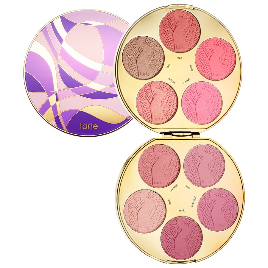 NEW Tarte Color Wheel Amazonian Clay Blush Palette Limited