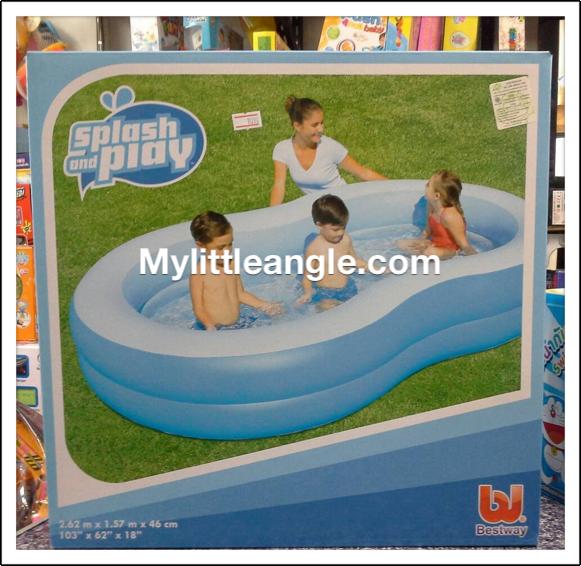 สระว่ายน้ำเลขแปด ส่งฟรี