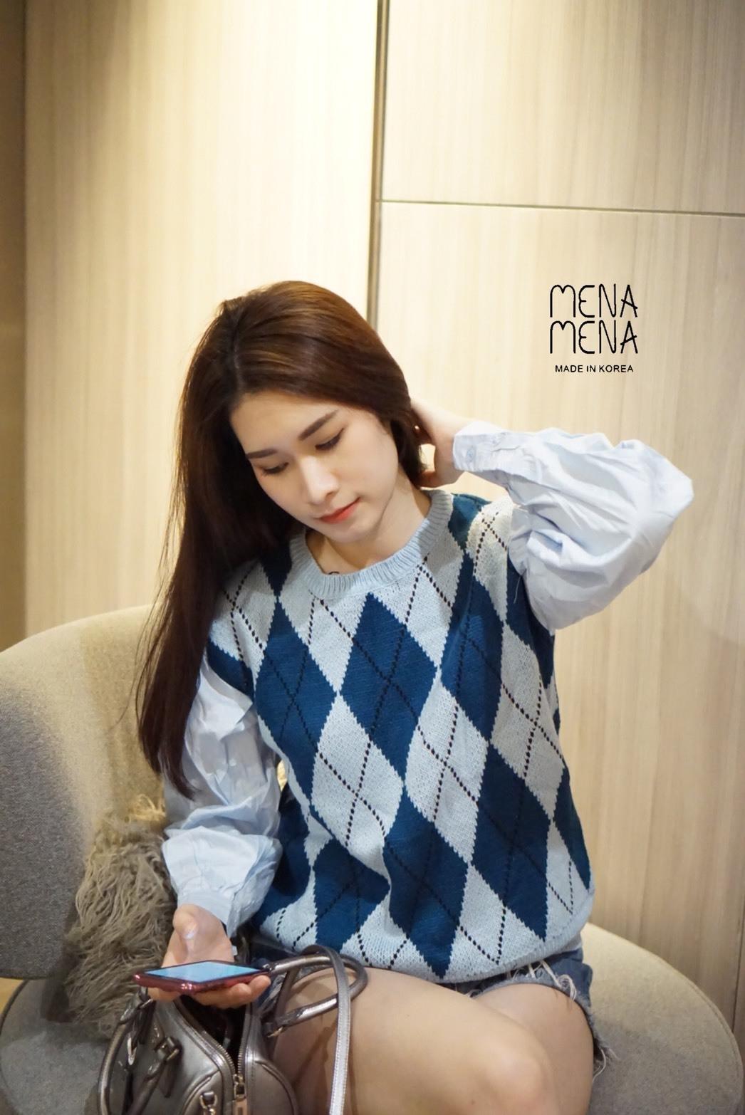 เสื้อผ้าเกาหลีพร้อมส่ง งานดีผ้าไม่คันใส่สบาย เหมือนจบจากไฮสคูลที่ บอสตันเลยจ้า