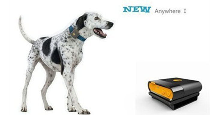 Mini Pet GPS Tracker อุปกรณ์ติดตามป้องกันสัตว์เลี้ยงหาย มีแบตในตัว กันน้ำ