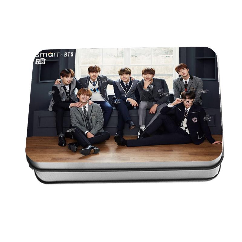 LOMO CARD กล่องเหล็ก BTS smart 40 รูป