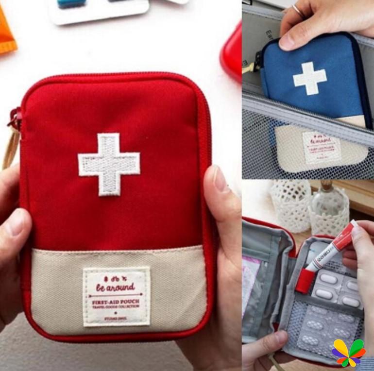 กระเป๋ายาพกพา กระเป๋าปฐมพยาบาลเบื้องต้น
