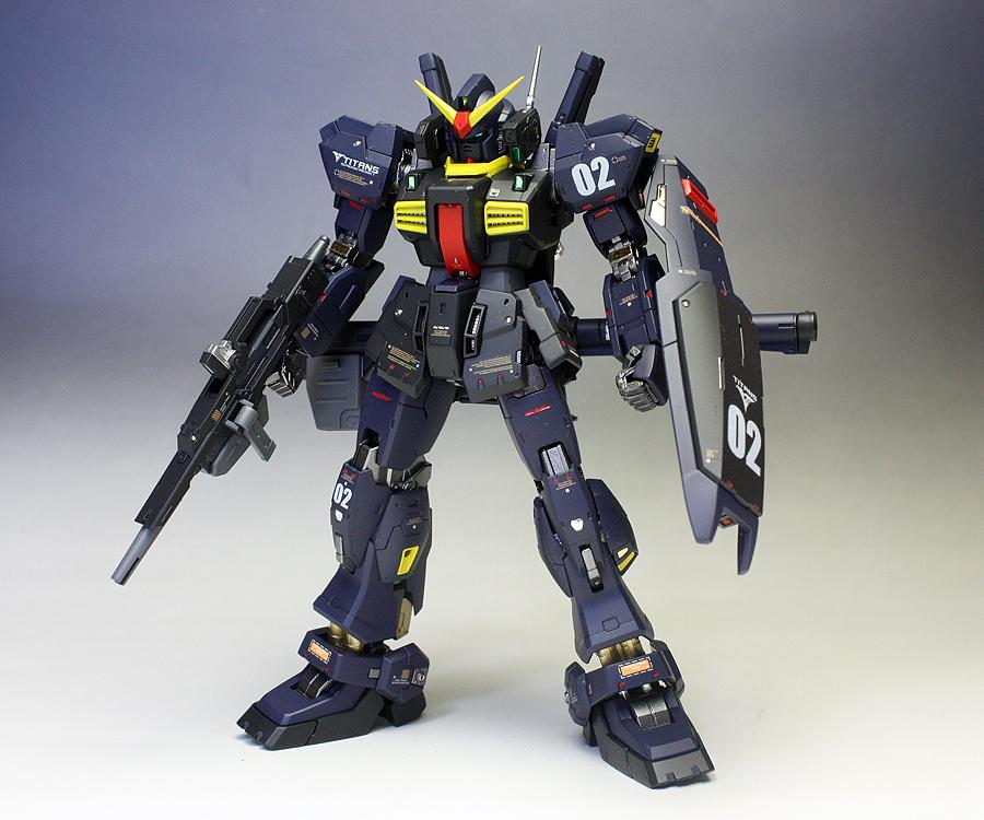 RG 1/144 07 Gundam MK-II TITANS