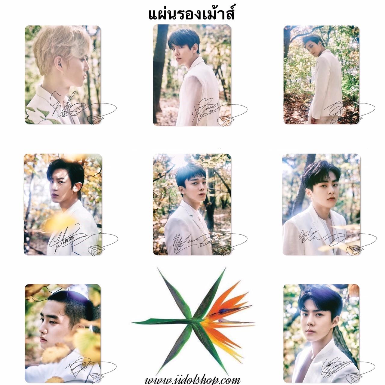 แผ่นรองเม้าส์ EXO The EℓyXiOn (ระบุสมาชิก)