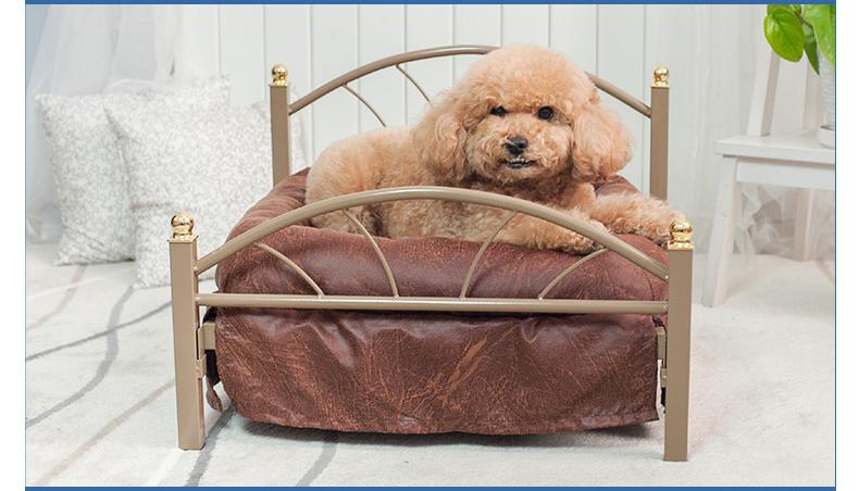 เตียงนอนเหล็กคลาสสิค Aibo Chia