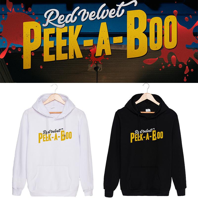 เสื้อฮู้ด Red Velvet Peek-A-Boo -ระบุไซส์ สี-