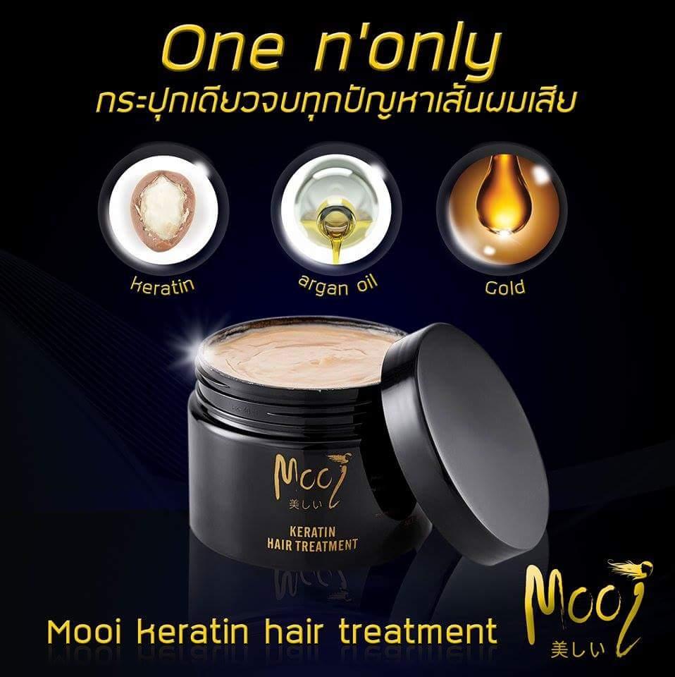 MOOI KERATIN HAIR TREATMENT