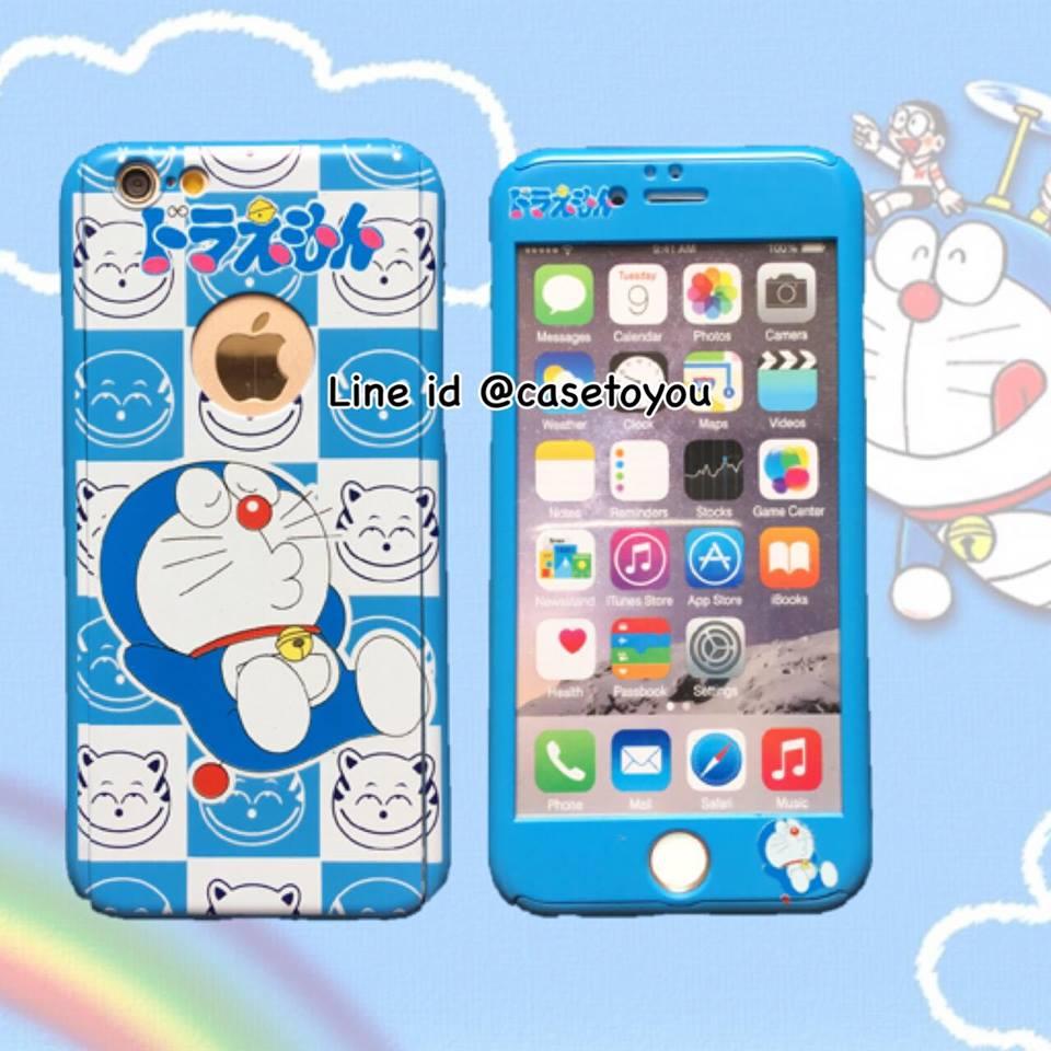 เคสประกบ 360 องศา Doraemon (A) iPhone 7