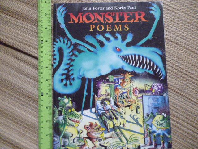 Monster Poems (Paperback)