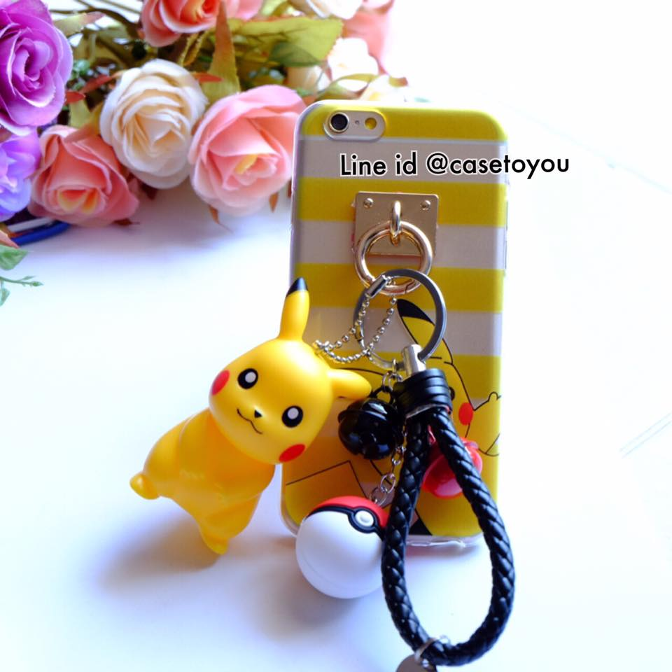 Pokemon แถมพวงกุญแจตุ๊กตา (B) iPhone 5/5S/SE