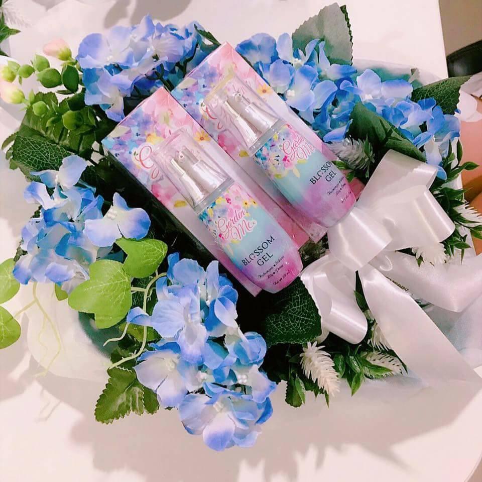 Garden Me Blossom Gel,ครีมจากดอกไฮเดรนเยียสีฟ้า,ดีเจนุ้ย