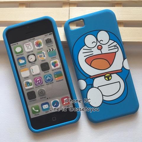 เคสประกบลาย Doraemon 02 รุ่นไอโฟน 5c