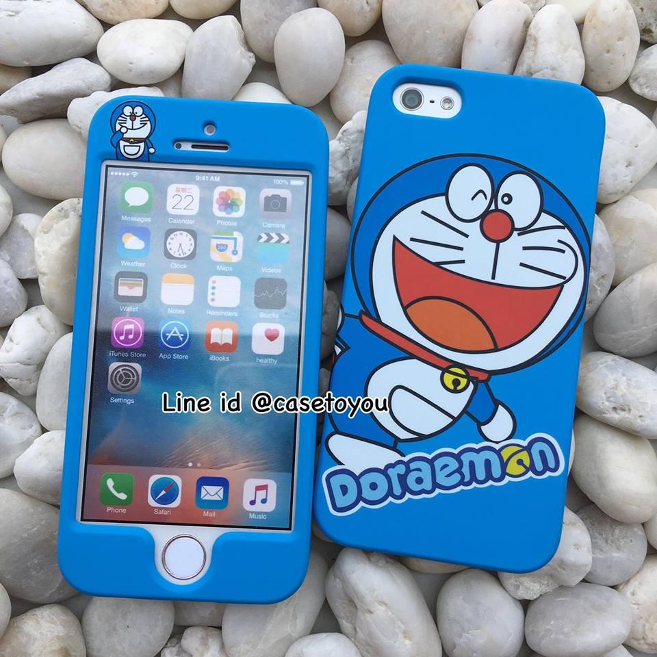 เคสประกบหน้า-หลัง Doraemon 02 iPhone 5 เท่านั้น