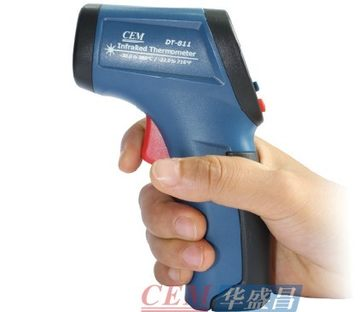 อินฟราเรดเทอร์โมมิเตอร์ Range -30 ~ 380 ℃ รุ่น CEM DT811 ( Infrared Thermometer )