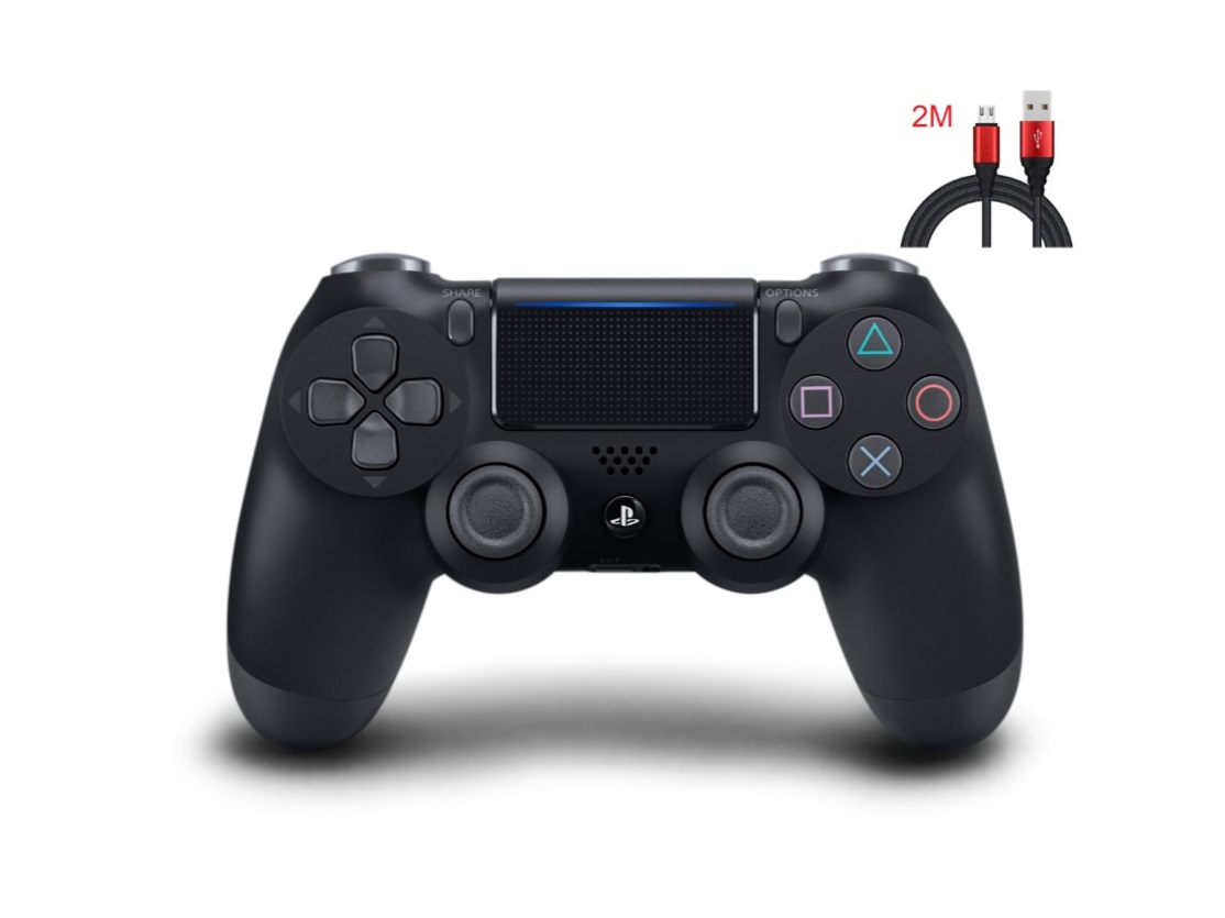 New PS4 Controller : Dual Shock 4 Jet Black