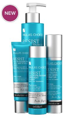 ลด 20 % PAULA'S CHOICE :: Resist Simple Kit for Wrinkles + Breakouts เซตบำรุงสำหรับผิวมัน ที่มีปัญหาเรื่องริ้วรอยแห่งวัย สูตรบางเบา