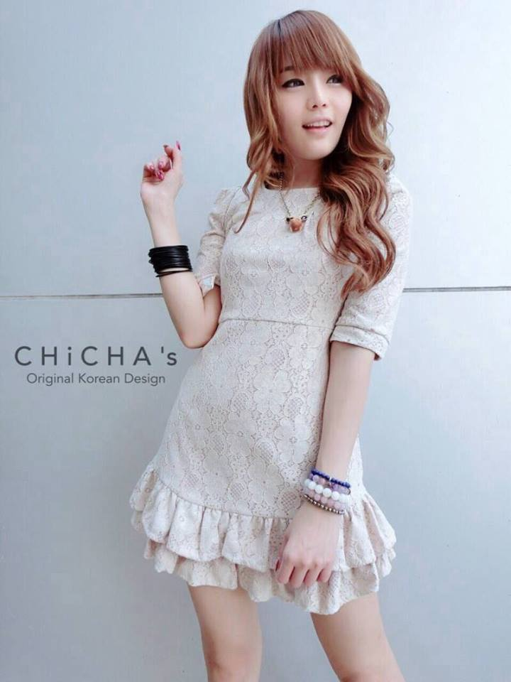 Dolly Lace Dress by ChiCha's C141-53A08