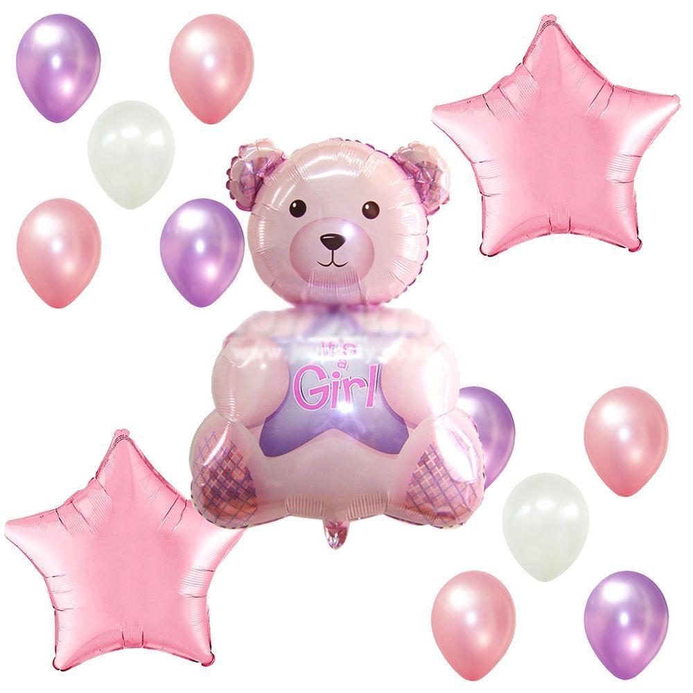 ลูกโป่งหมีแรกเกิด รับขวัญหลาน New Born BN 132