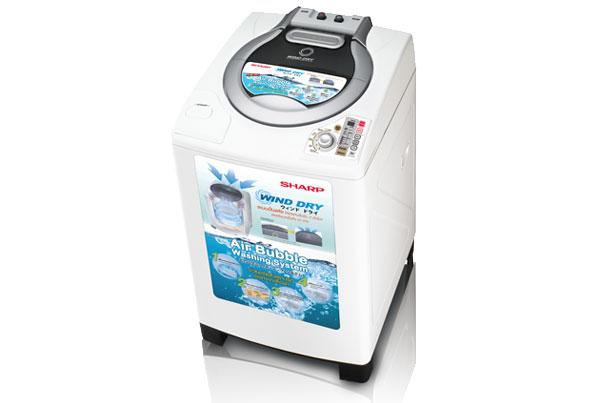 เครื่องซักผ้า SHARP ฝาบน รุ่น ES-D129T-H ( 12 กิโลกรัม )