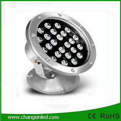 โคมไฟใต้น้ำ LED 24x1W DC12V